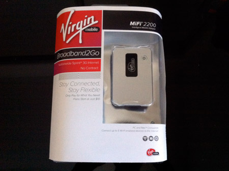 Virgin mifi 2200 free shipping