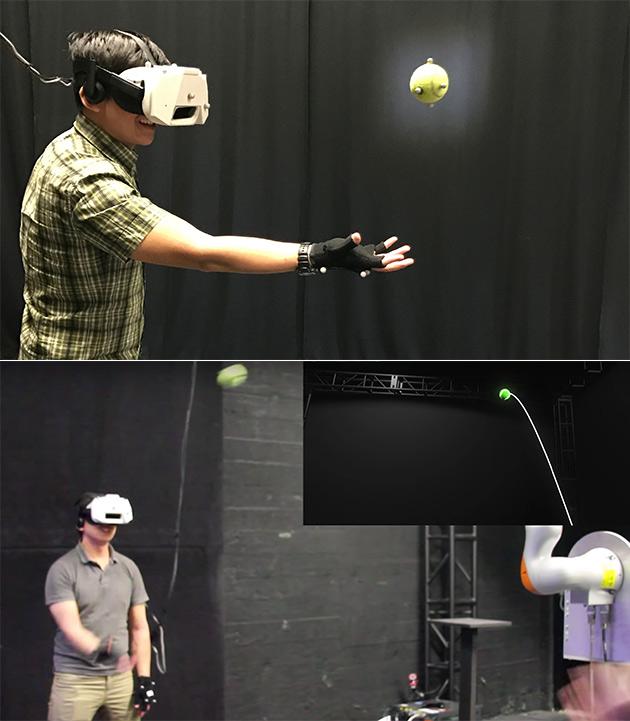 Virtual Reality Tennis Ball