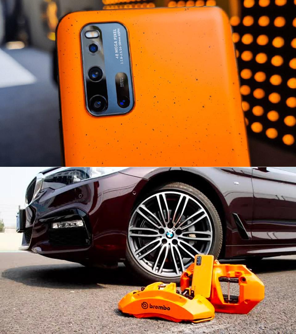 Vivo IQOO 3 5G Brake Pad Smartphone