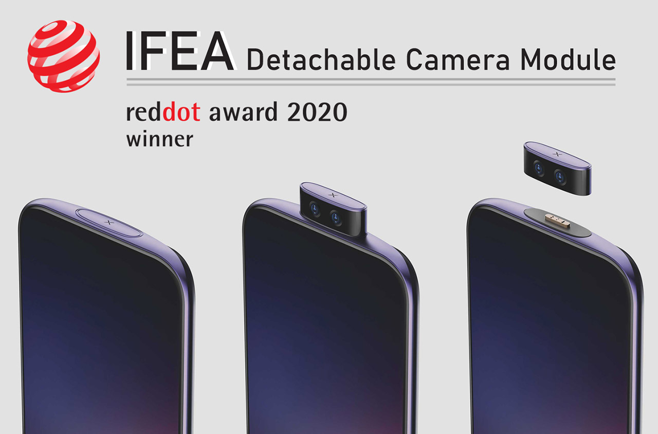 Vivo Smartphone Detachable Camera Leak