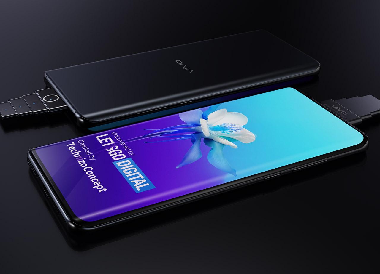 Vivo Smartphone Pop-Up Super Zoom Camera Leak