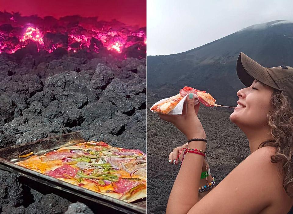 Volcanic Pizza Chef Lava Guatemala