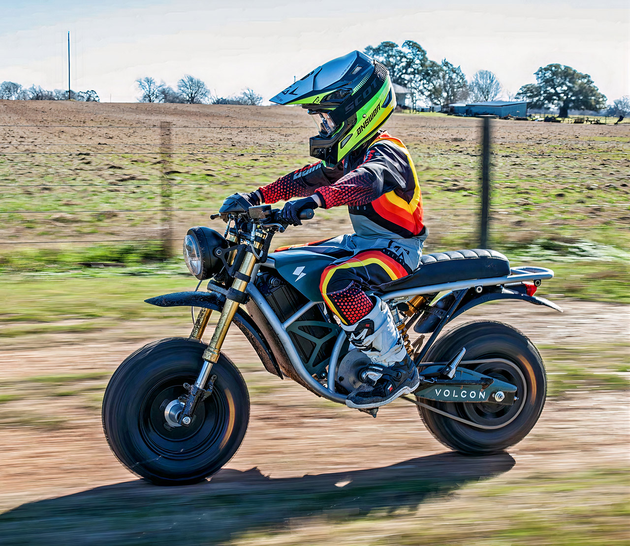 Volcon Runt Electric Motorcycle Kids