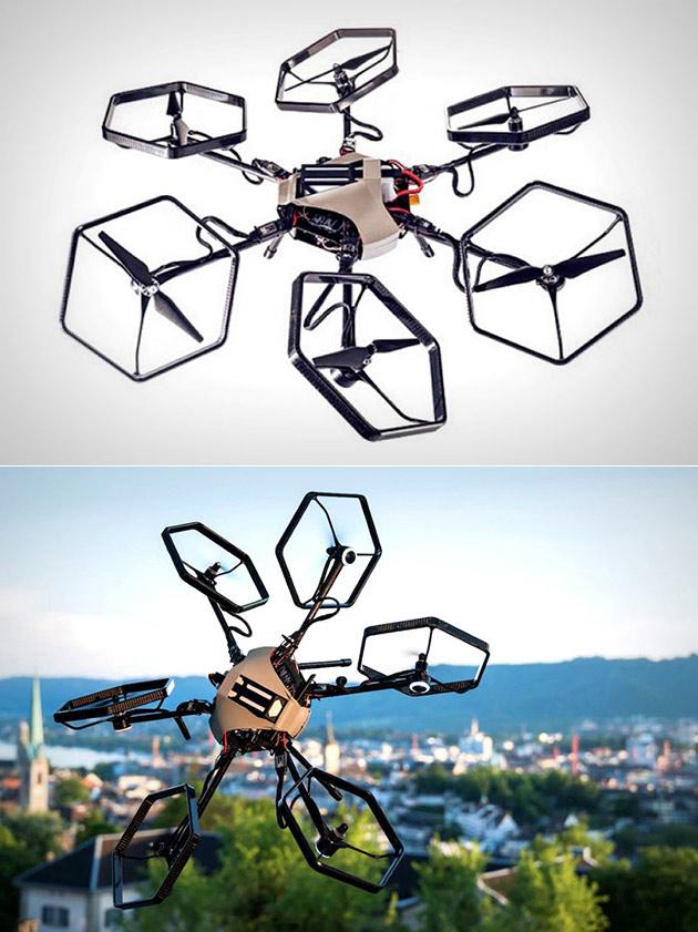 VOLIRO Omnidirectional Hexacopter