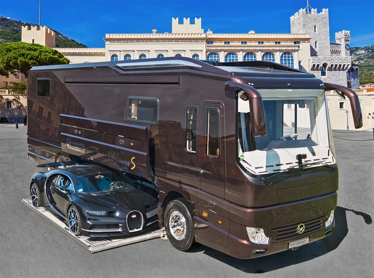 Volkner Performance S 2021 Motorhome Bugatti Garage