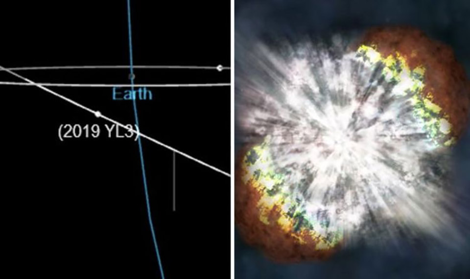 Volkswagen Beetle-Asteroid Earth NASA