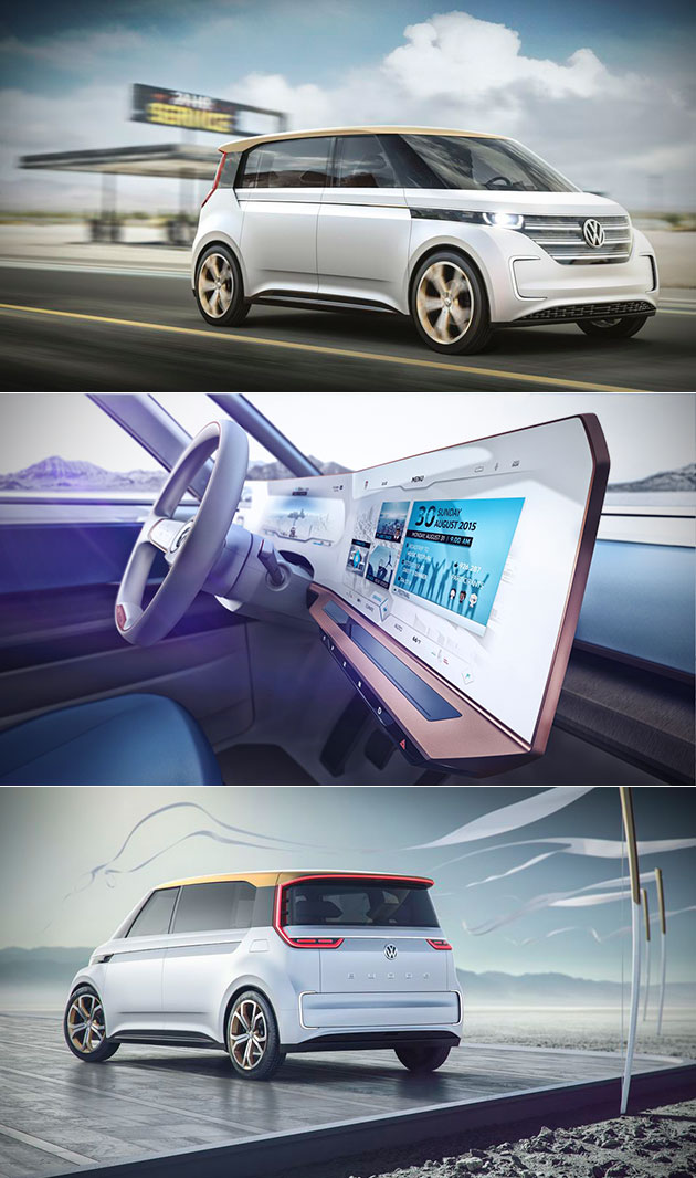 Volkswagen BUDD-e is a Futuristic Electric Microbus that Comes Equipped with Voice Control