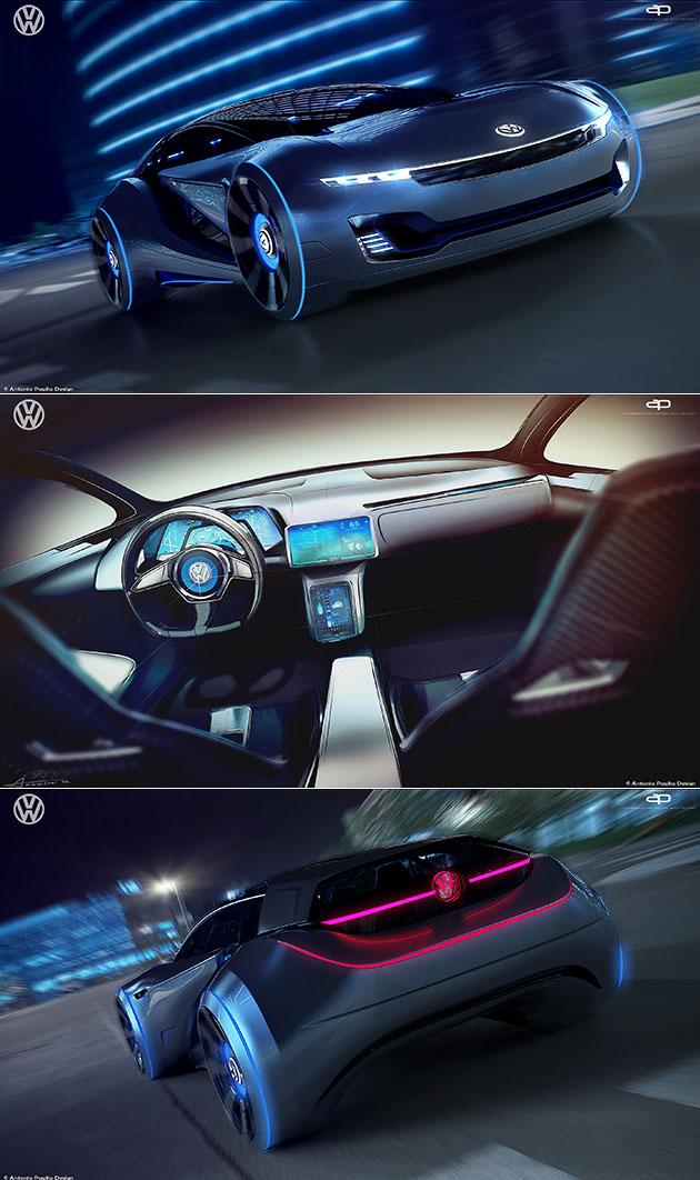 Volkswagen ID-Tech Concept