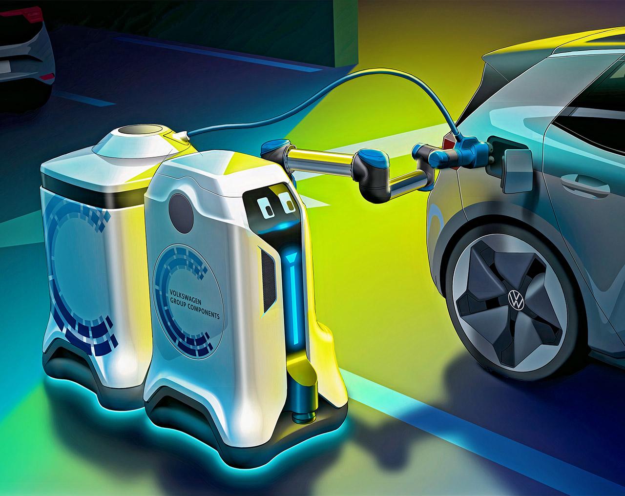 Volkswagen Mobile Charging Robot EV