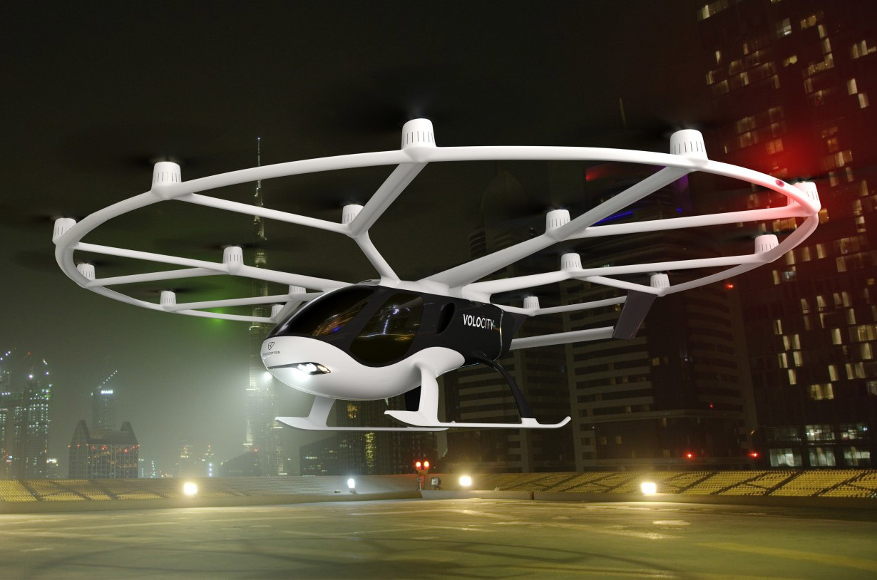 Volocopter VoloCity Flying Taxi
