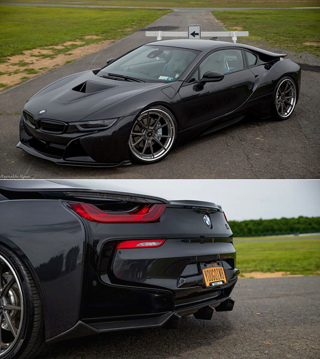 Vorsteiner Unveils Dark Knight Inspired Bmw I8 In Stealth Black