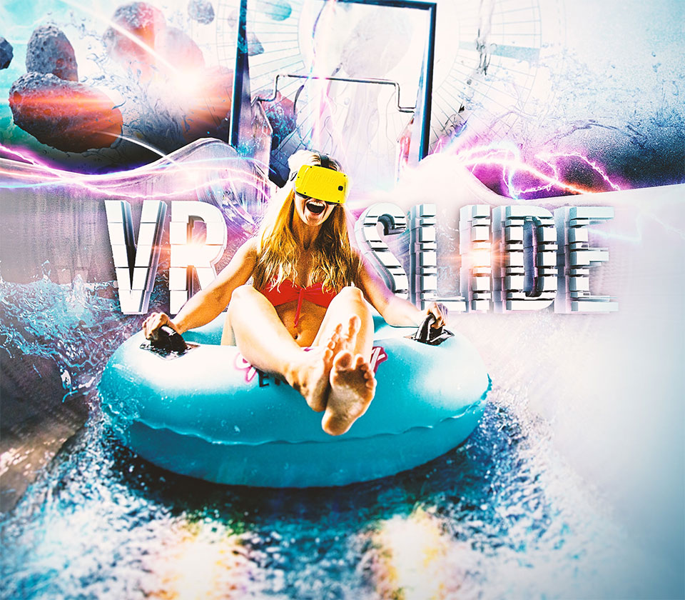 VRSlide Virtual Reality Waterslide