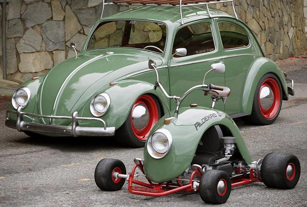 VW Beetle Go-Kart Bugkart Wasowski