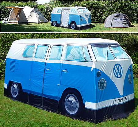 Gearing up for the Bug Jam VW Festival 2011 (UK) in July? Then be sure to pick up one of these awesome VW C&er Van Tents from Firebox. & VW Camper Van Tent is Perfect for Bug Jam - TechEBlog