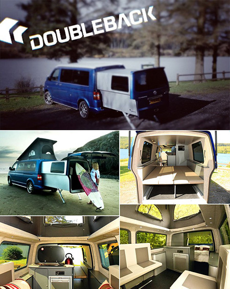 17 pictures of vw 39 s transporter t5 doubleback the ultimate transforming camper techeblog. Black Bedroom Furniture Sets. Home Design Ideas