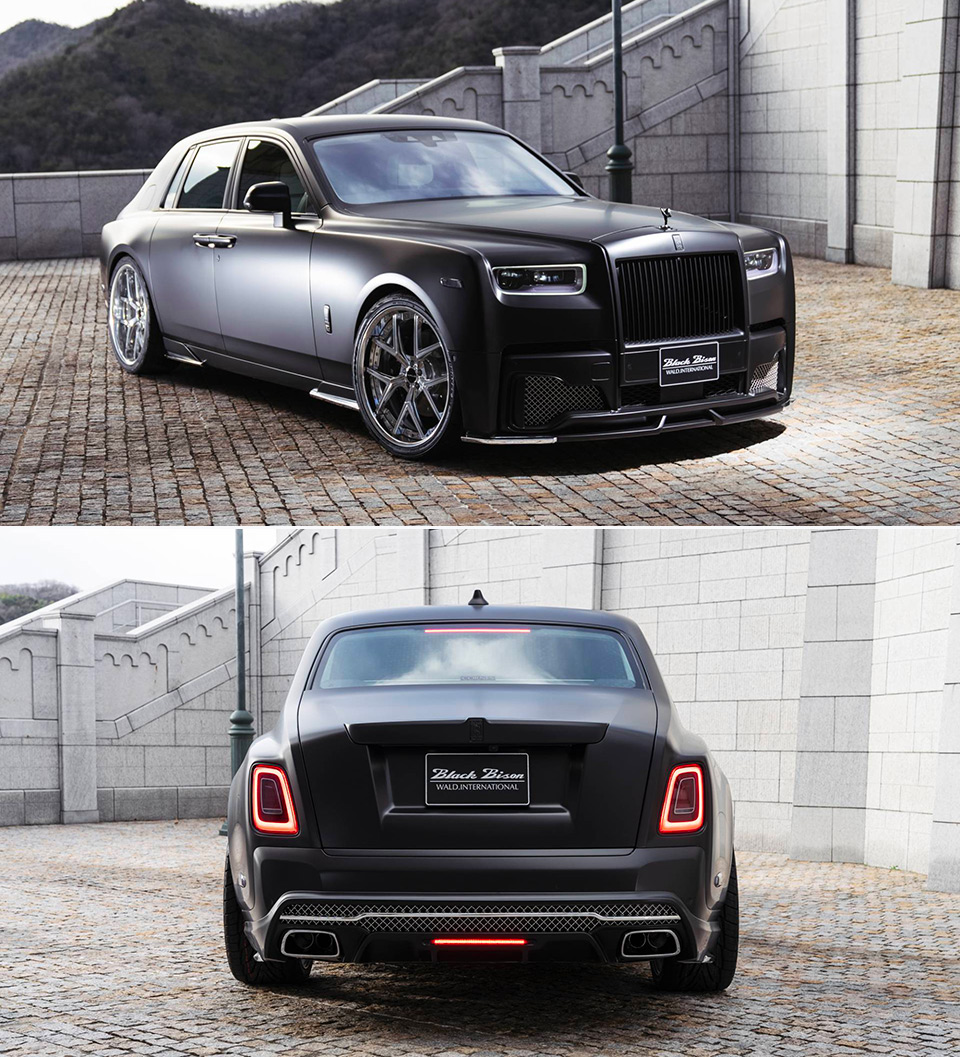 Wald Rolls-Royce Phantom Black Bison