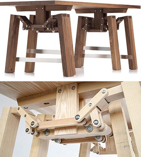 Strange walking table texnoworship for Strange table