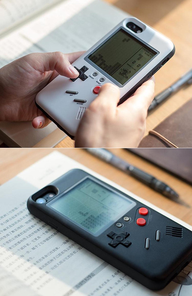 Game Boy iPhone Case Playable