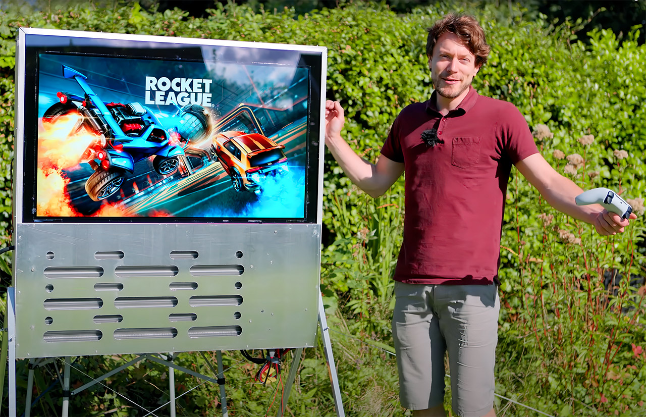 Water-Cooled TV Ultra Bright Matthew DIY Perks