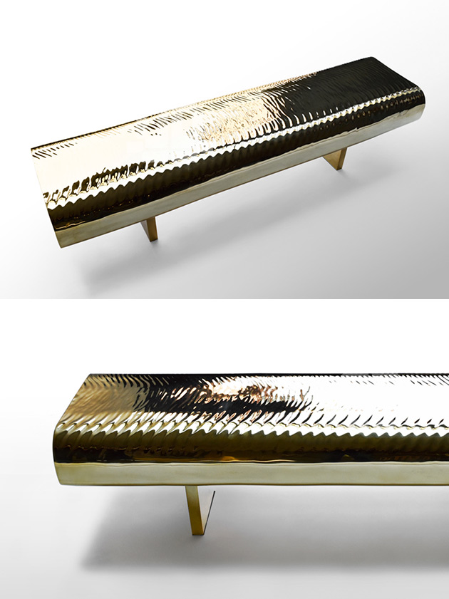 Water Ripple Bench