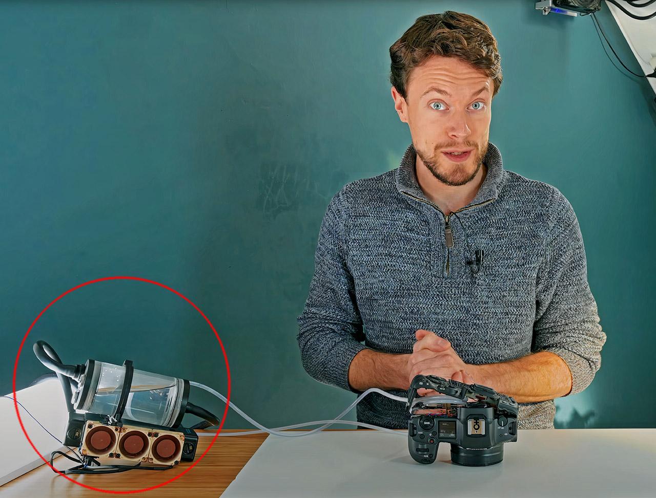 Watercool Canon R5 DSLR Camera