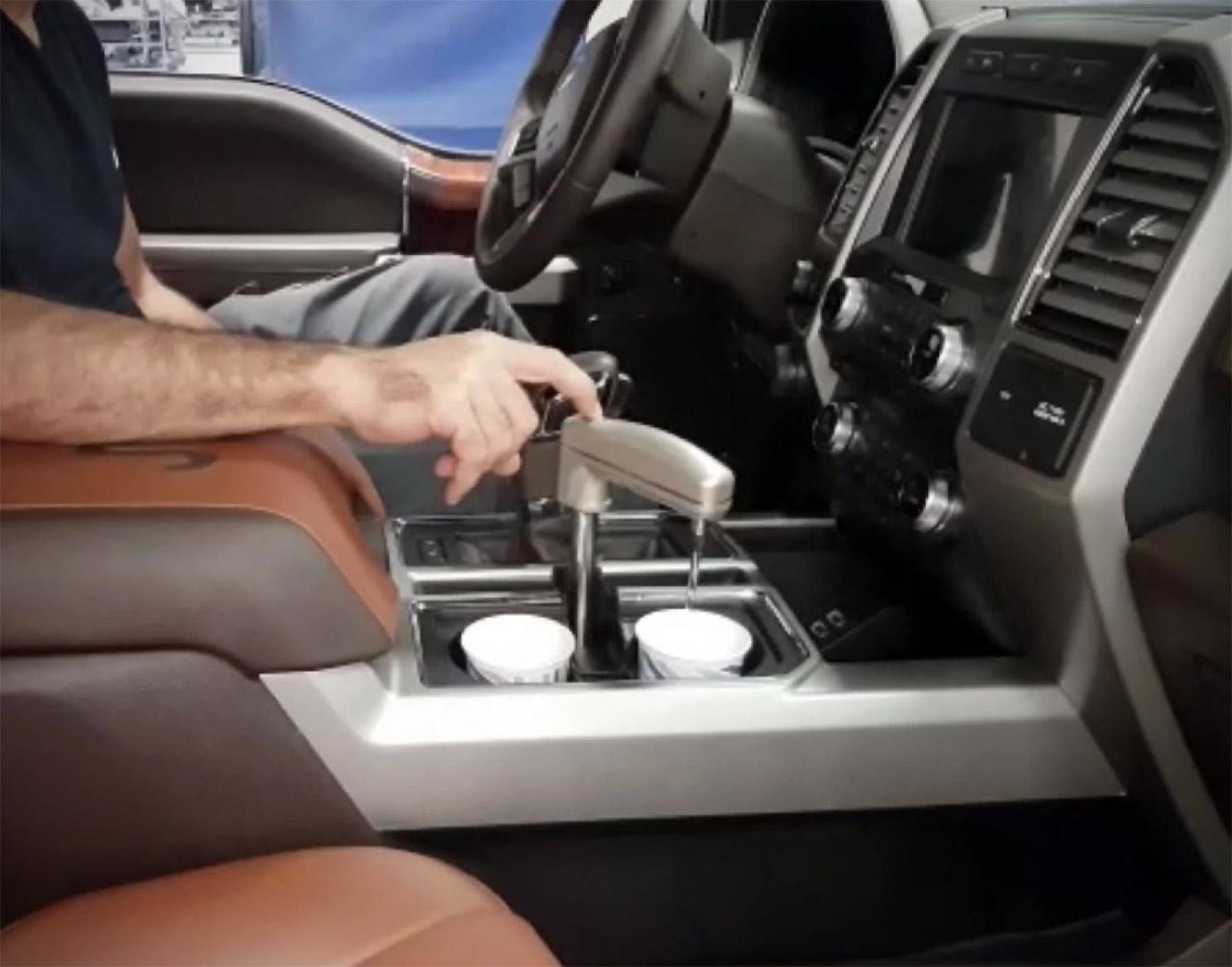 Watergen In-Car Fresh Water Dispenser