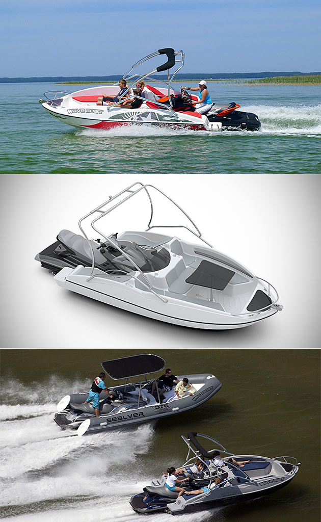 Sealver Wave Boat Transforms Your Jet Ski Into A Power Boat In Seconds