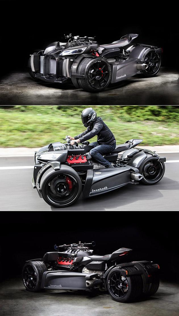Wazuma V8M Trike