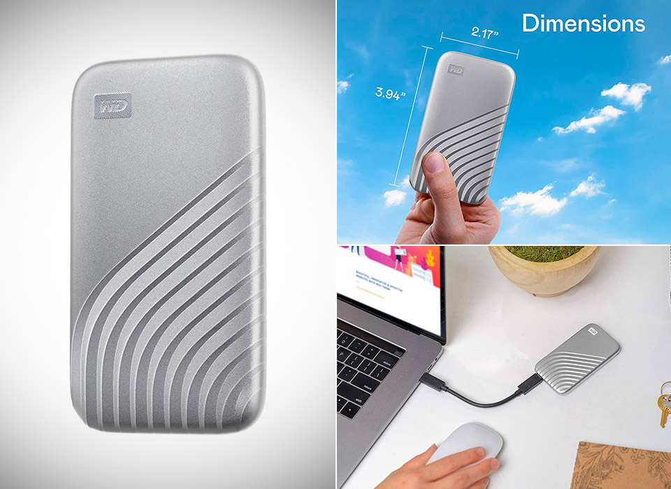 WD 2TB My Passport SSD External Portable Solid State Drive