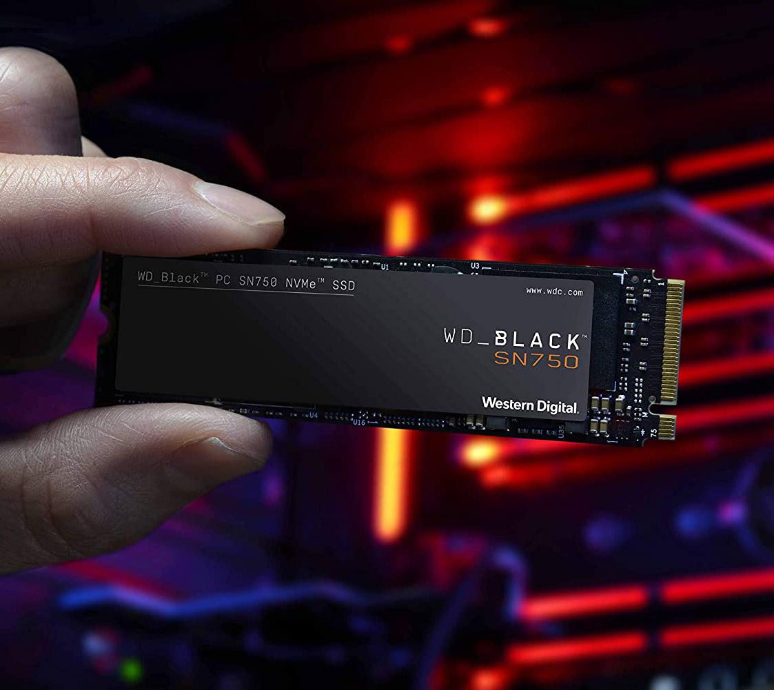 1TB WD Black SN750 NVMe PCIe SSD