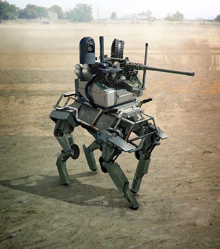 Weaponized Big Dog Robot May Replace Soldiers on the ...