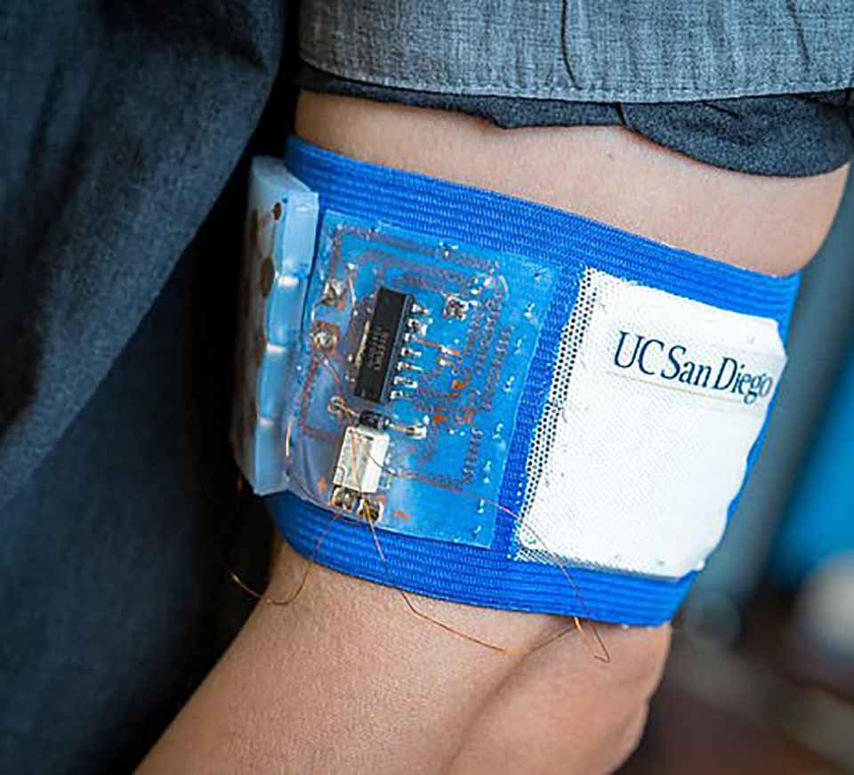 Wearable Band Perfect Temperature