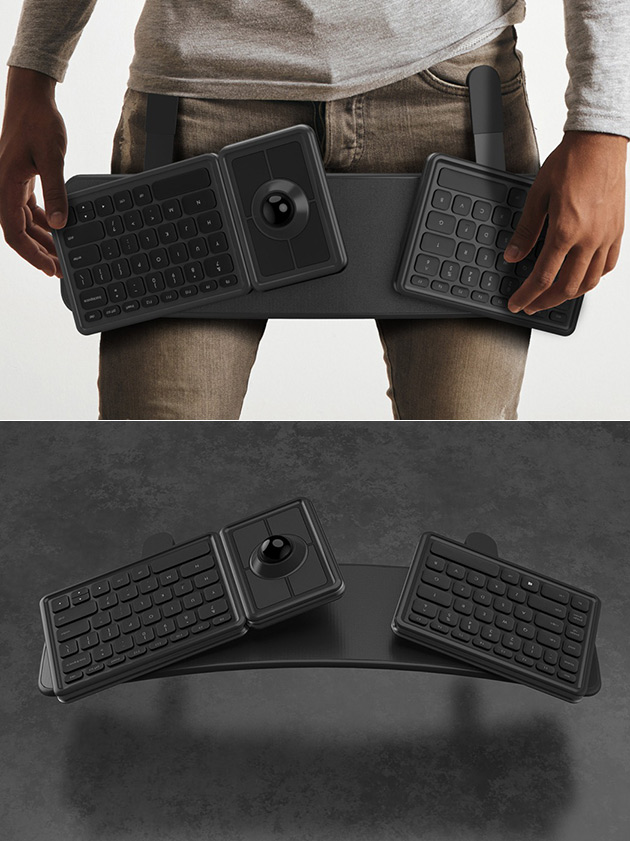 Wearable Ergonomic Keyboard
