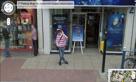Funny Google Maps, Street View Sightings