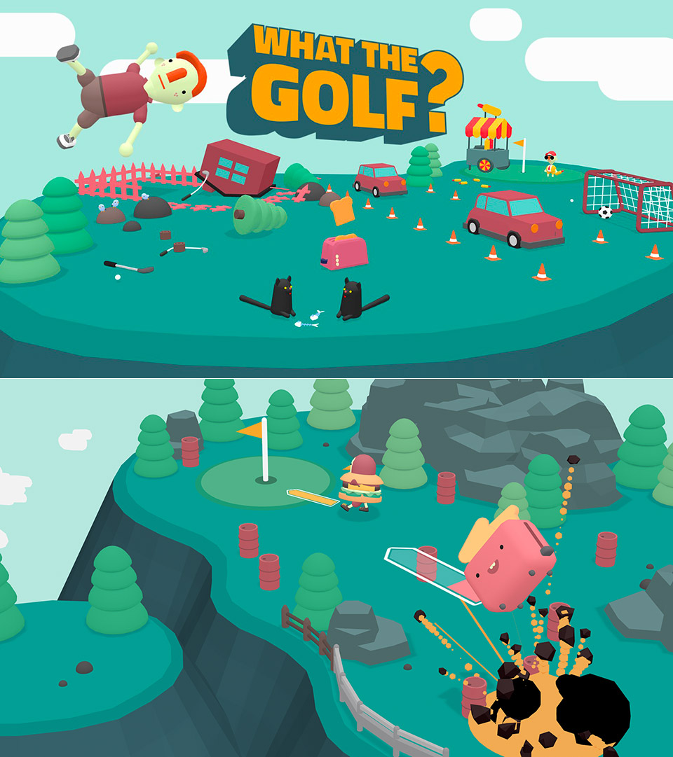 What the Golf Nintendo Switch