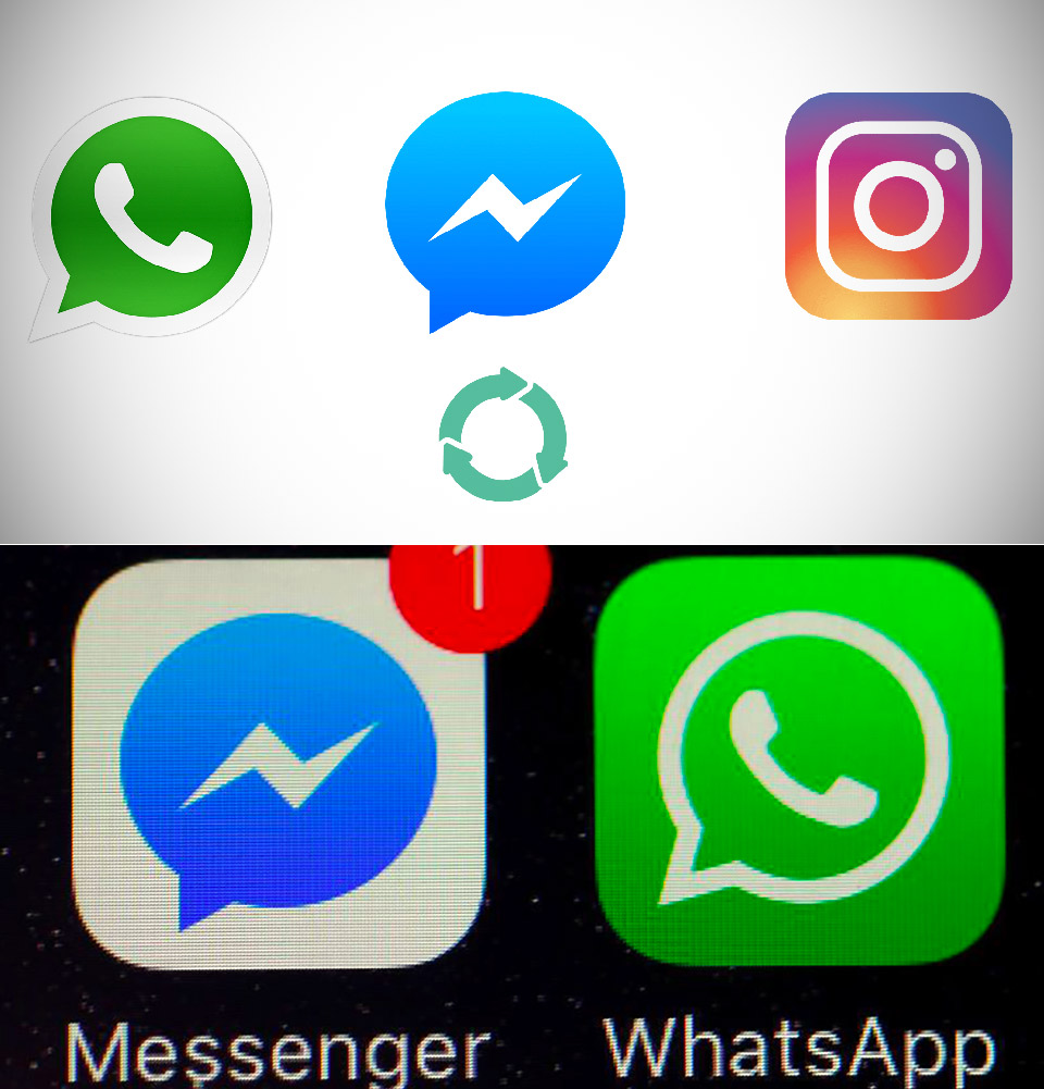 WhatsApp Facebook Messenger Instagram Mark Zuckerberg
