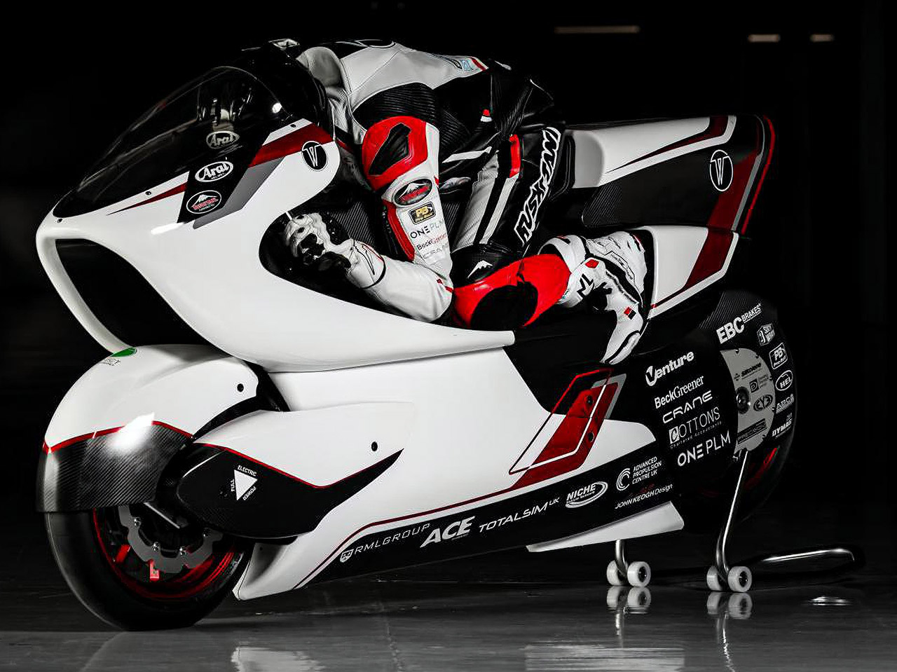 White Motorcycle Concepts WMC250EV Fastest Electric Motorcycle