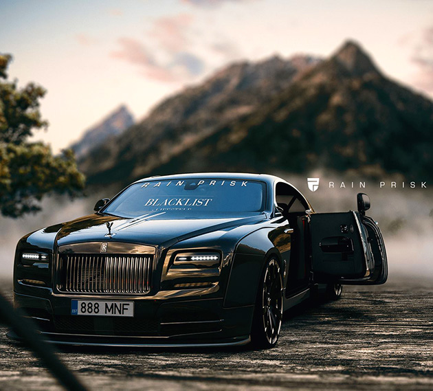 Widebody Rolls Royce Wraith