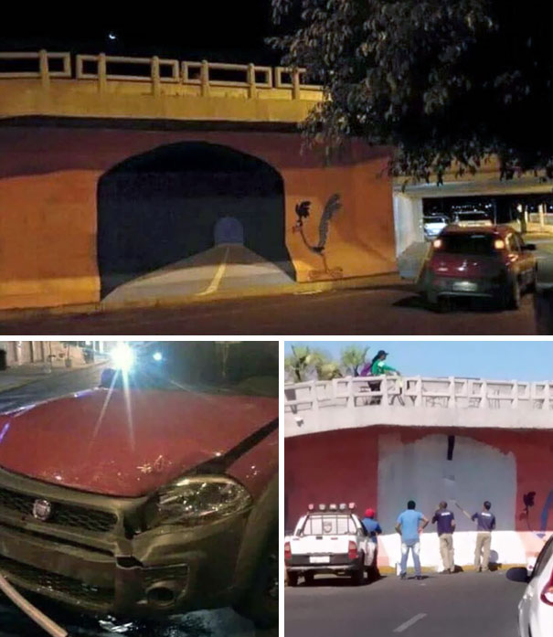 Real-Life Wile E. Coyote Tunnel and 10 More Design FAILS That Haven't Been Photoshopped
