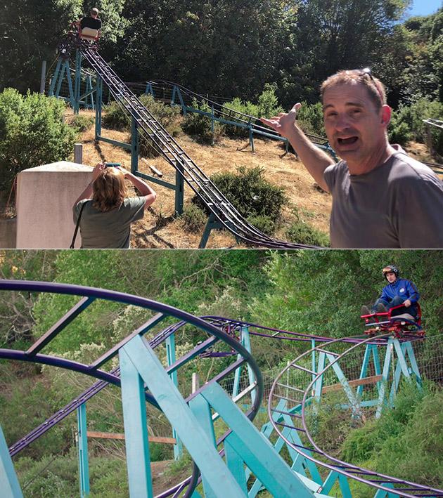 Goal Boss Backyard Roller Coaster