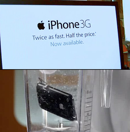 Will it Blend iPhone 3G