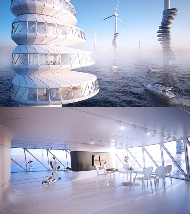 Wind Turbine Home