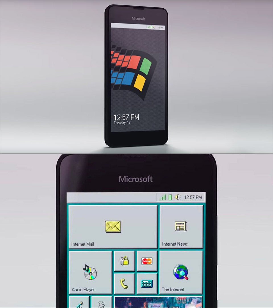 Windows 95 Mobile Smartphone