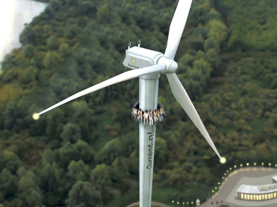 Wind Turbine Ride