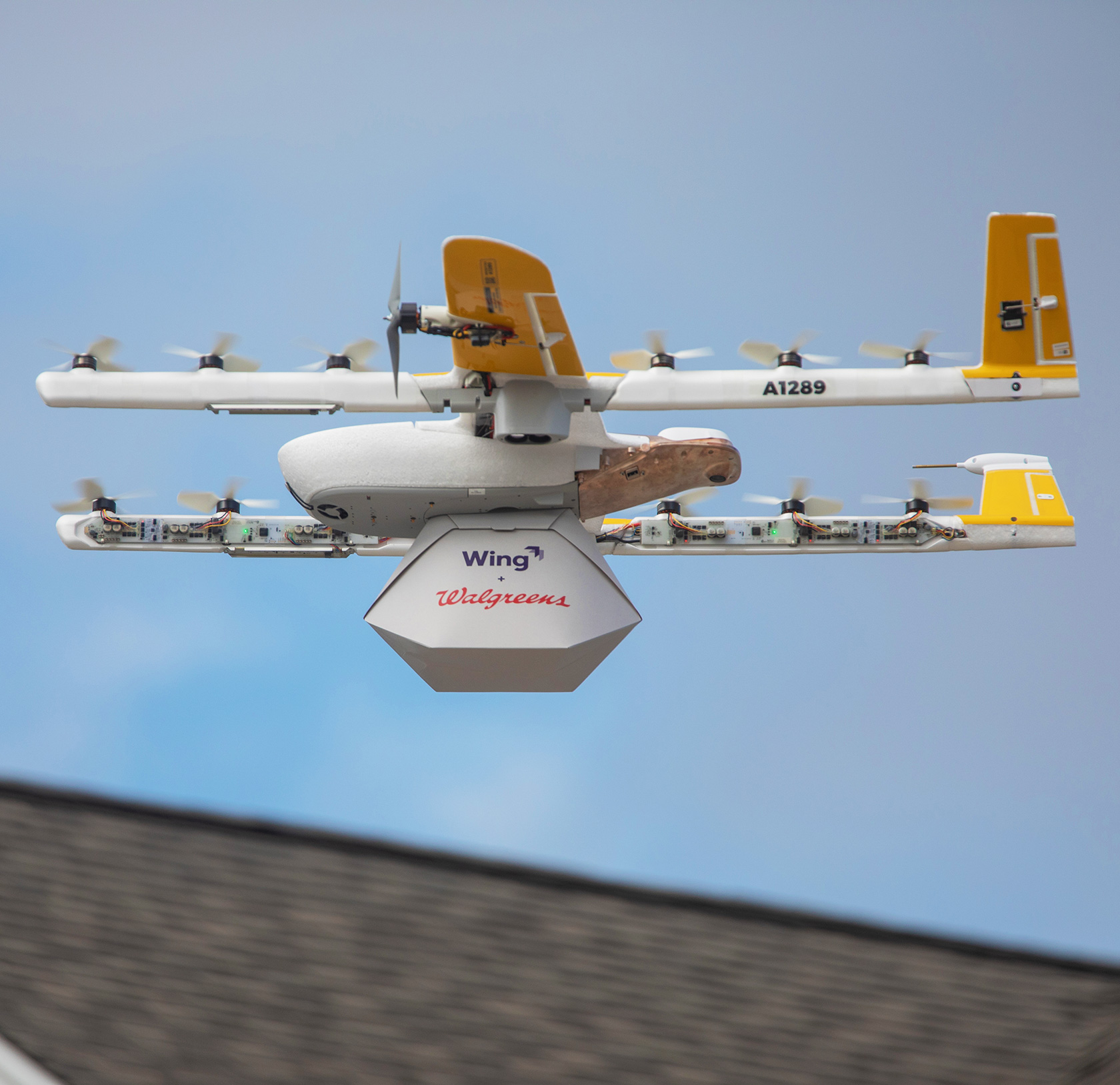 Wing Drone Delivery Service