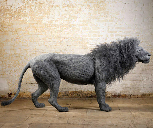 Wire Animal Sculpture