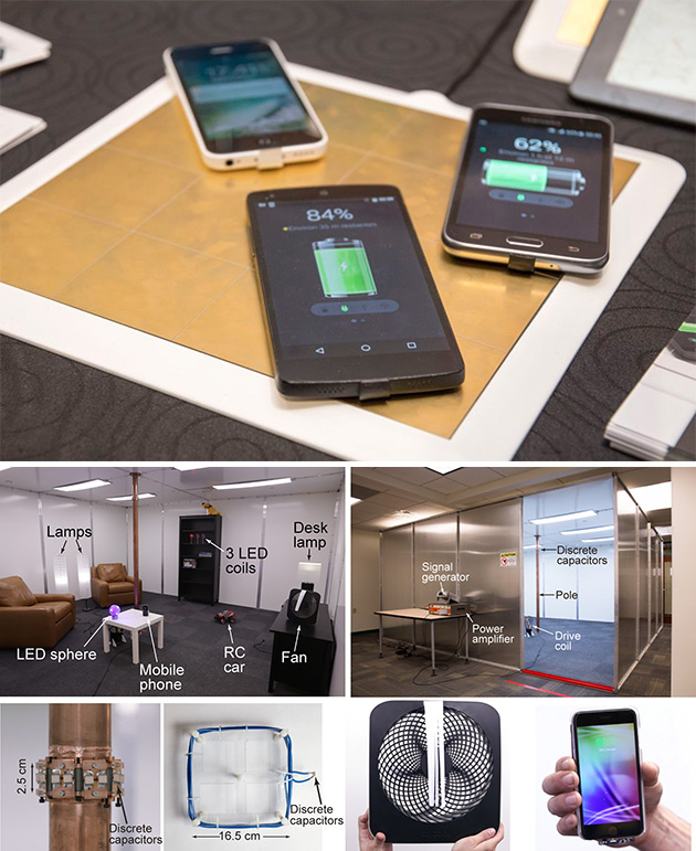 Wireless Charging Room Technology