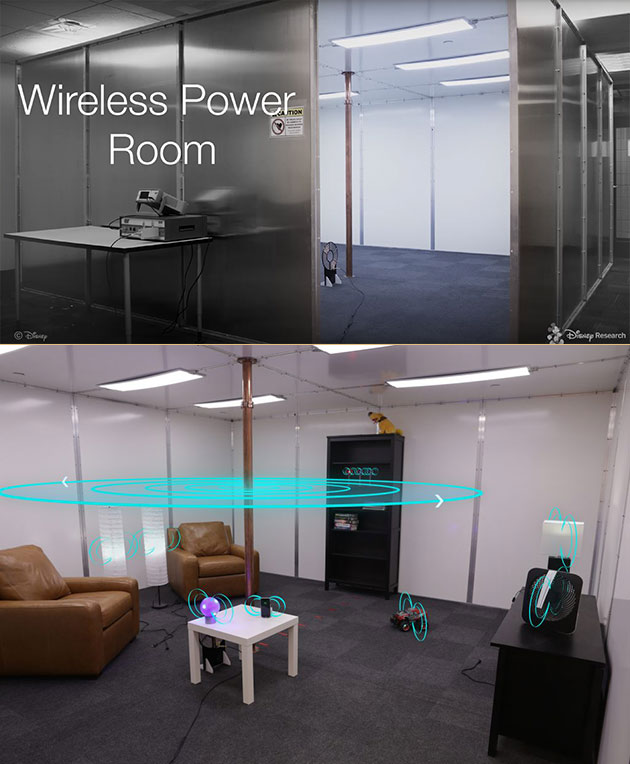 Wireless Power Room