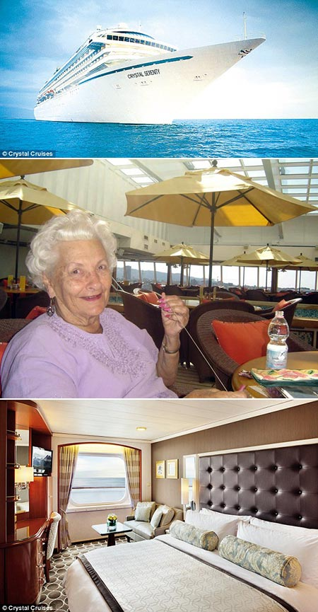 Woman Live On Cruise Ship