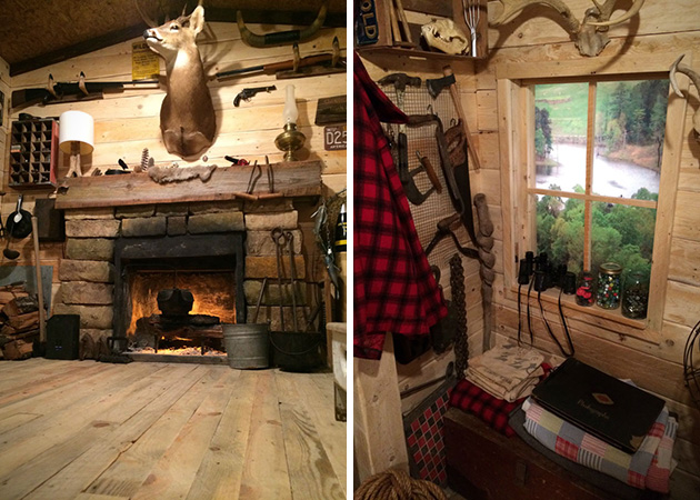 Wood Cabin Man Cave